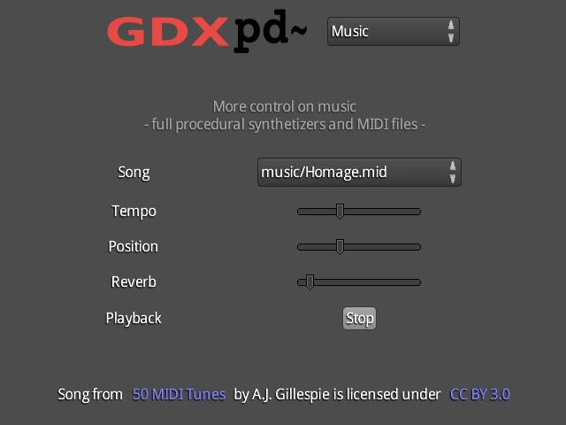 Puredata for Libgdx